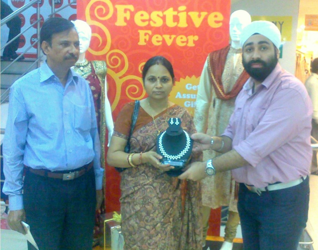 Allahabad Store giving away prizes for Festive Fever