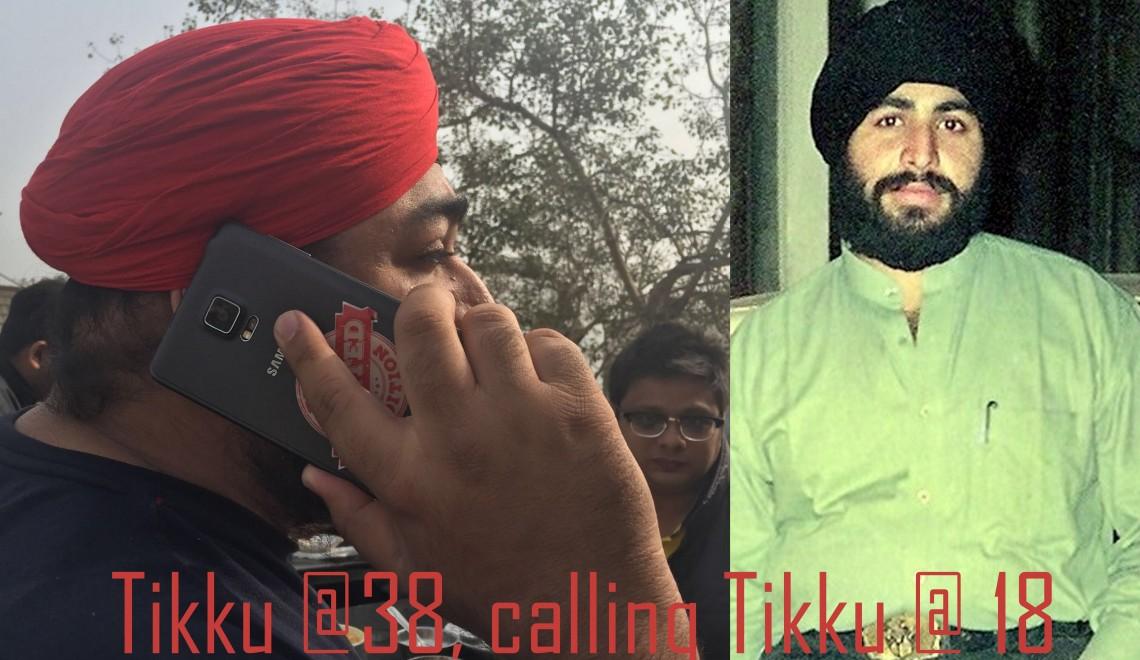Tikku at 38 calling Tikku at 38