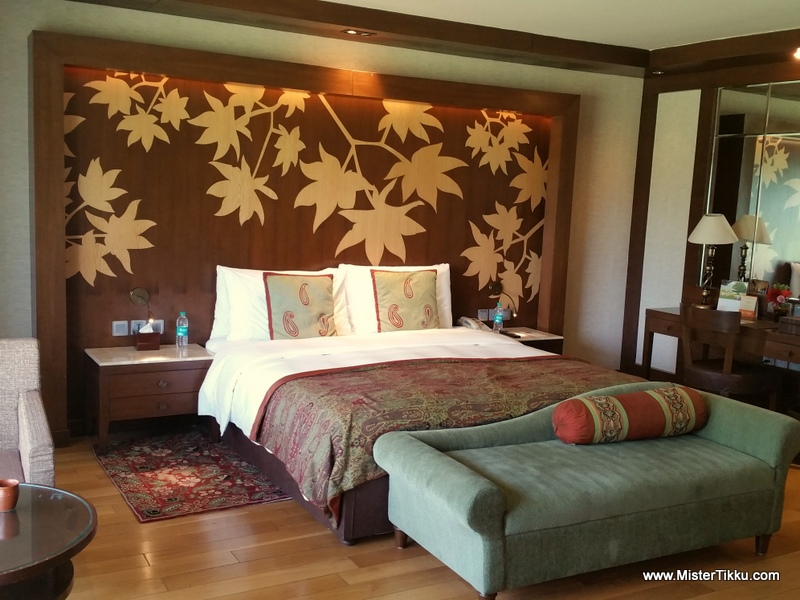 Our Hotel Room in Lalit Palace, Srinagar