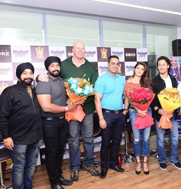 Team Core, Flying Jatt Press Conference