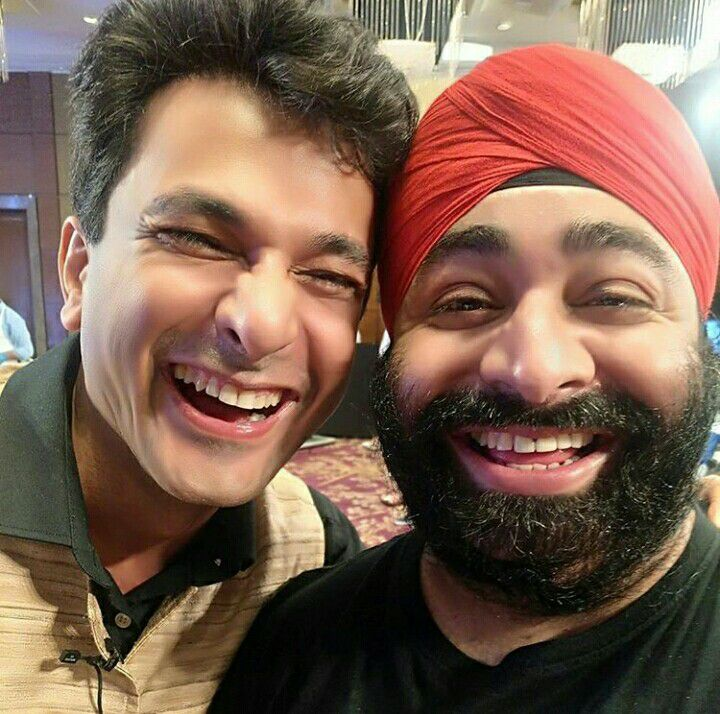 Vikas Khanna And Mister Tikku