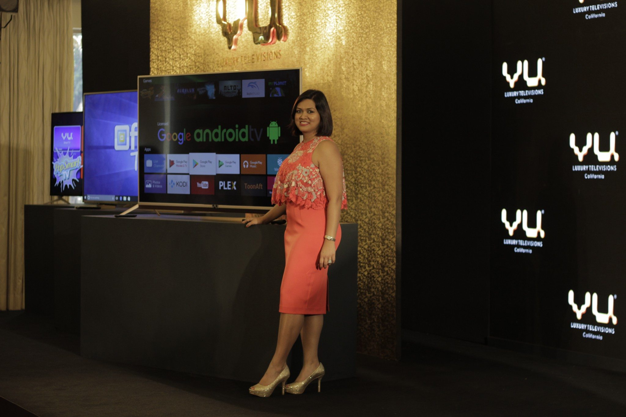 Devita Saraf, Design head and CEO, VU TV