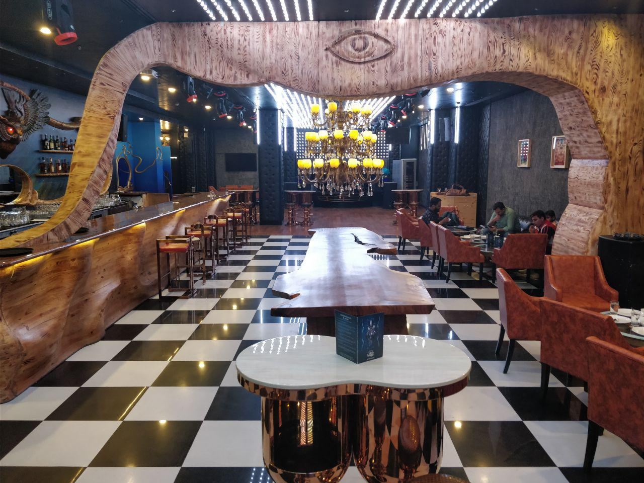 the theatre club and lounge paschim vihar