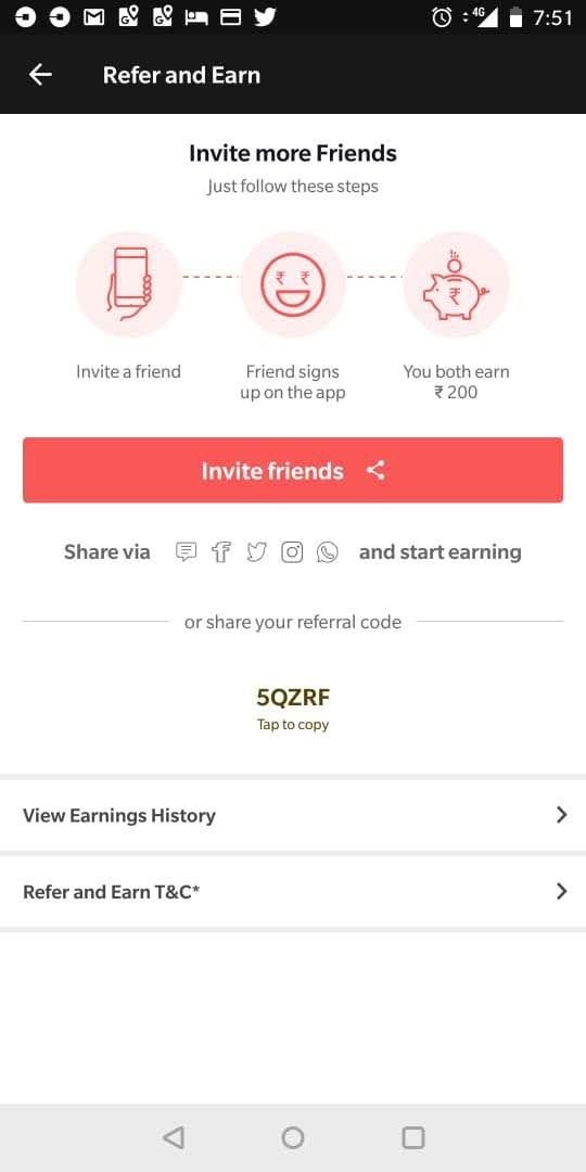 referral code for dineout