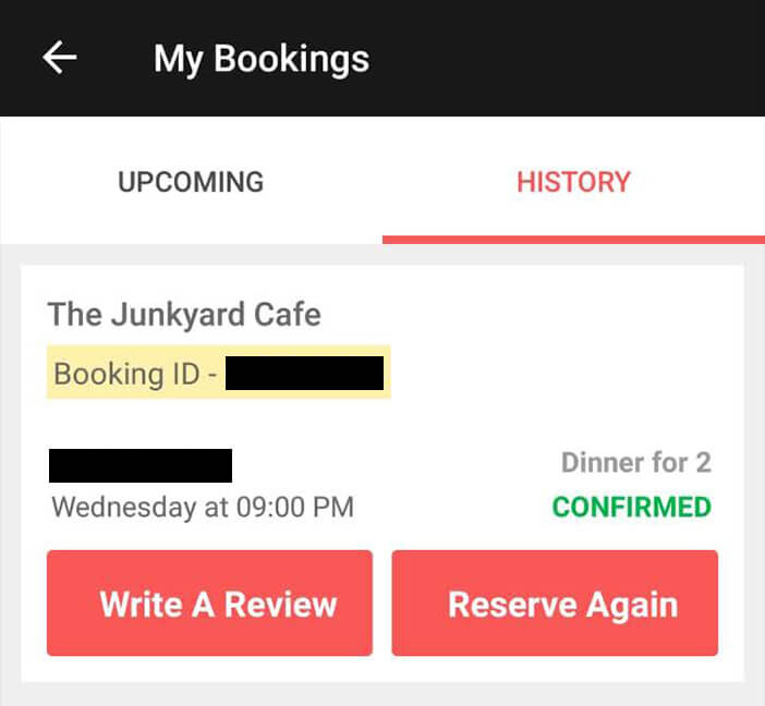 booking at junkyard cafe connaught place via dineout