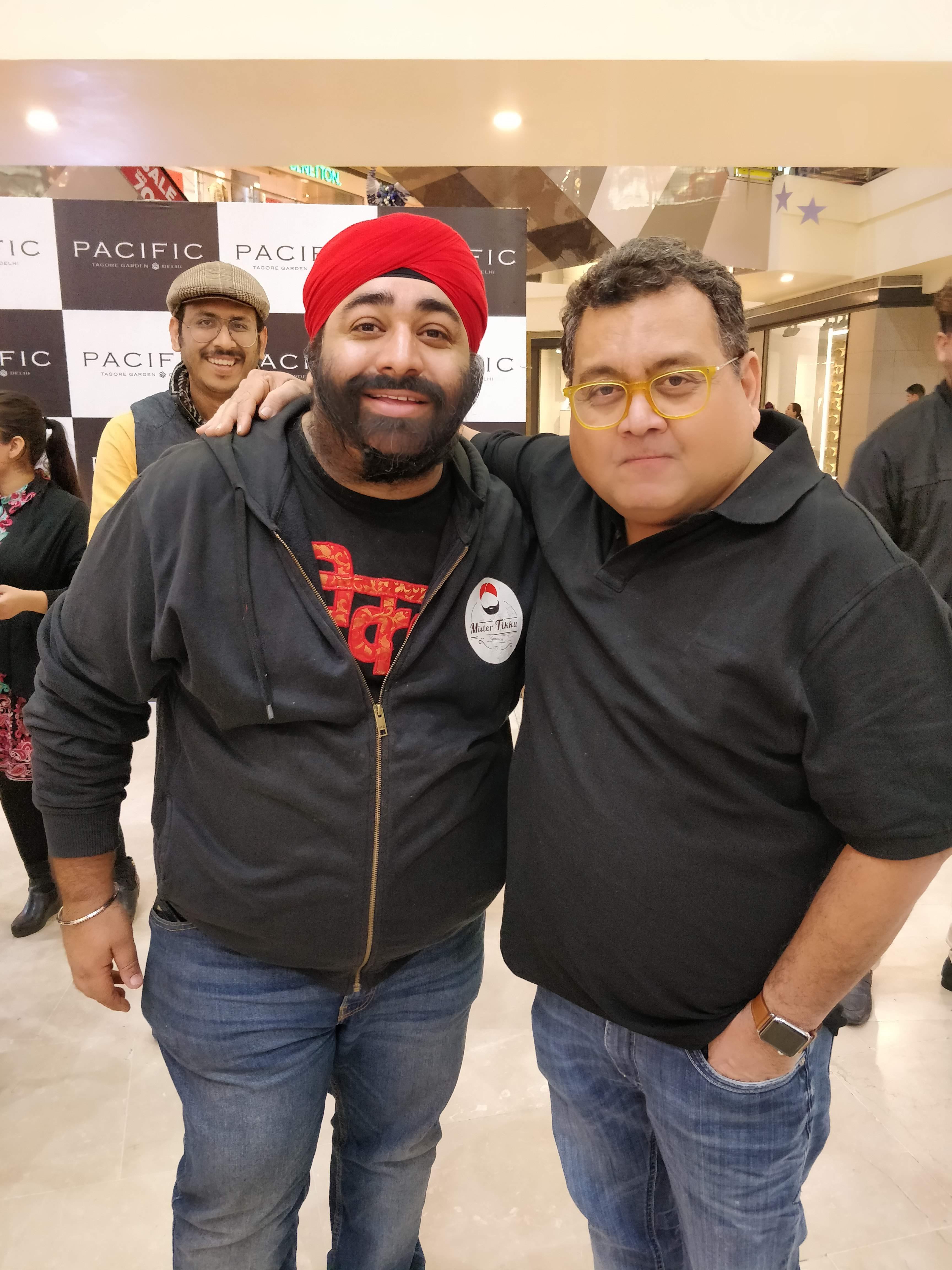 Mister Tikku with Kunal Vijayakar