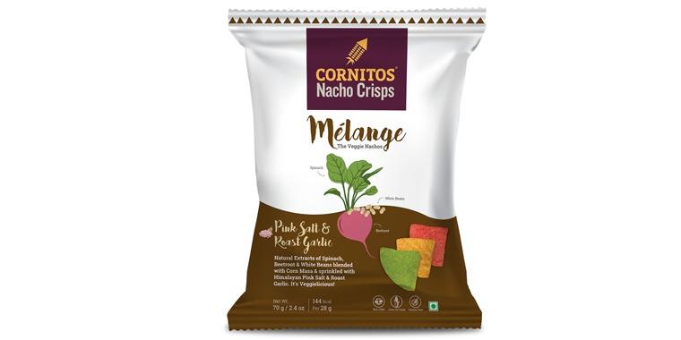 Cornitos Mélange Veggie Nacho Crisps MisterTikku