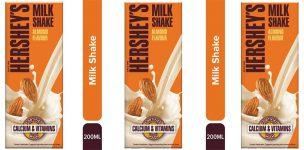 harsey milk shake