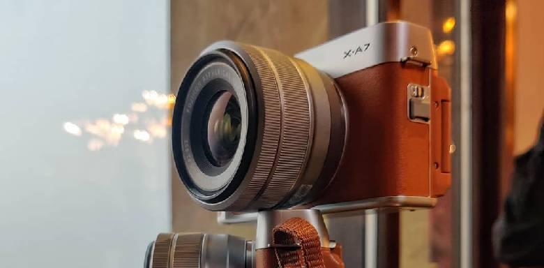 Fuji X-A7 Camera